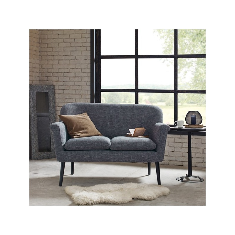 Davenport Rolled Arm Settee