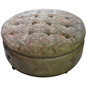 Armstrong Tufted Ottoman