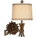 Bamboo Sailor Sconce