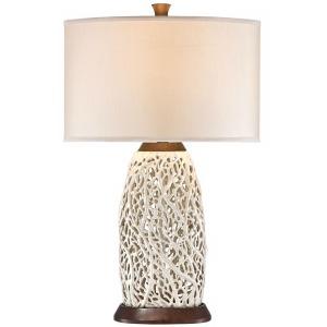 Seaspray Table Lamp - Wood