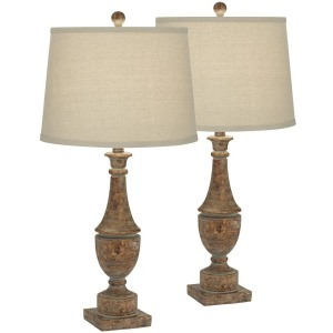 Collier Table Lamps - Set of 2