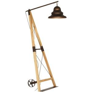 Industrial Bell Floor Lamp