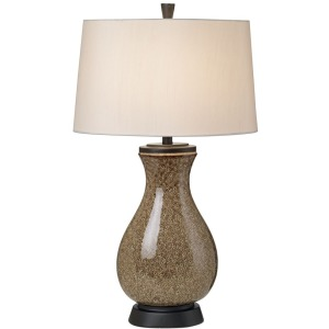 Mystic Glaze Table Lamp - Brown