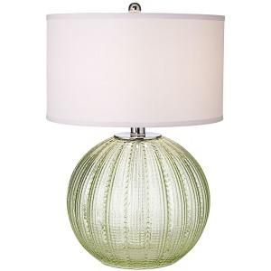 Green Urchin Table Lamp