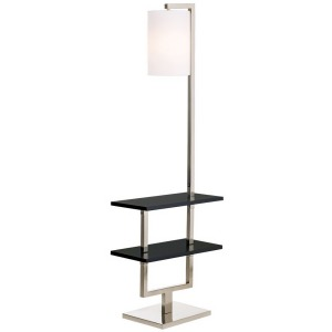 Avenue Double Shelf Downbridge Floor Lamp