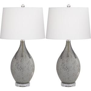 Volcanic Shimmer Lamp - Set of 2