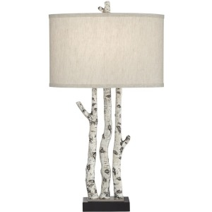 White Forest Table Lamp