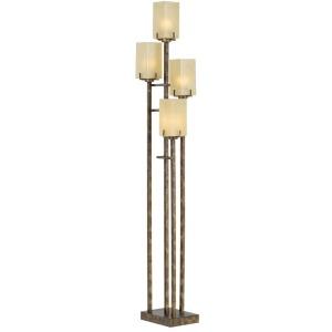 City Heights Floor Uplight- Bronze