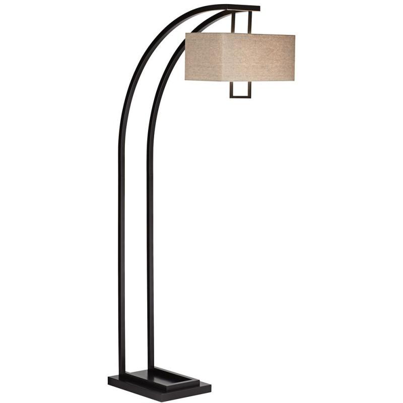 Aiden Place Arc Floor Lamp