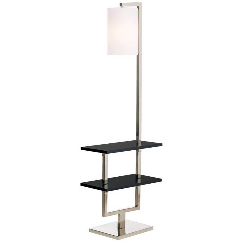 Avenue Double Shelf Downbridge Floor Lamp