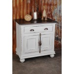 Huntington Nightstand 1 Drawer 2 Door