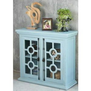 Glazed Credenza - Beach Blue
