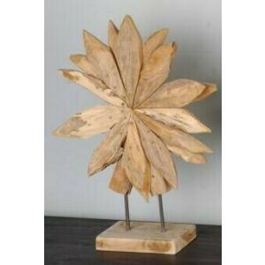 Small Wooden Star - Natural