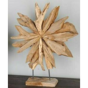 Medium Wooden Star - Natural