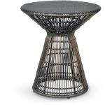 Verona Outdoor Side Table, Espresso