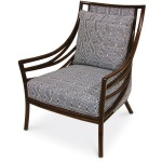 Crescent Lounge Chair In Com