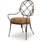 Metal Bamboo Dining Chair