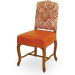 Lyon High Back Upholstered Side Chair In Com (nfs)