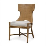 Caprice Side Chair, Honey