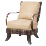 Havana Leather Lounge Chair