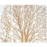 Spring Tree Wall Decor, White, Set Of 4