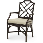 Pavilion Arm Chair, Dark Brown