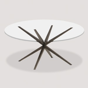 Lovell Glass Top Dining Table