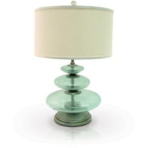 Glass Disc Lamp