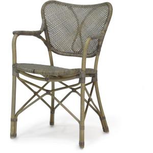 Jordan Arm Chair, Grey