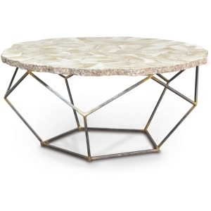 Loren Fossilized Clam Coffee Table