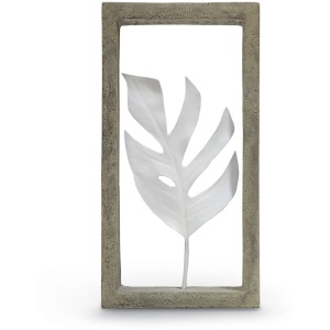 Indoor/outdoor Monstera Leaf Shadow Box
