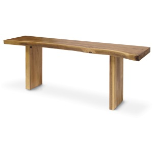 Plank Top Console