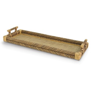 Rectangle Rope Top Tray