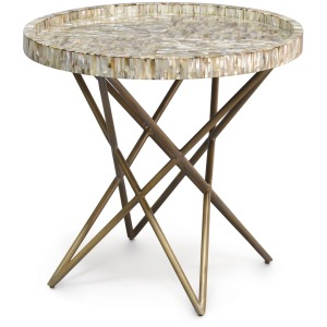 Spence Shell Side Table