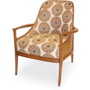 Woodland Veneer Chair In Com (nfs)