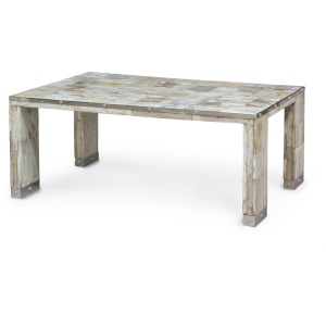 Maxwell Petrified Wood Coffee Table