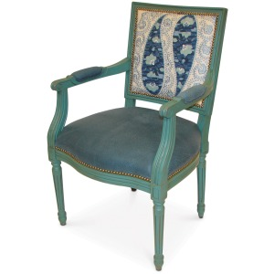 Lyon Square Back Arm Chair, Select In Com (nfs)