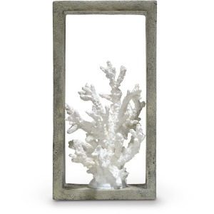 Indoor/outdoor Finger Coral Shadow Box
