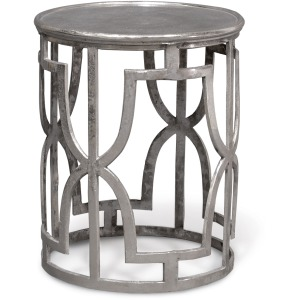 Kim Silver Side Table
