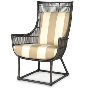 Verona Outdoor Lounge Chair, Espresso