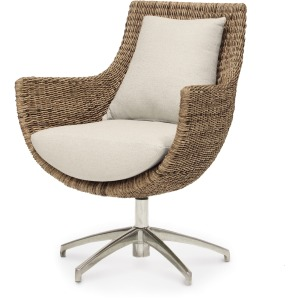 Metro Swivel High Back, Natural