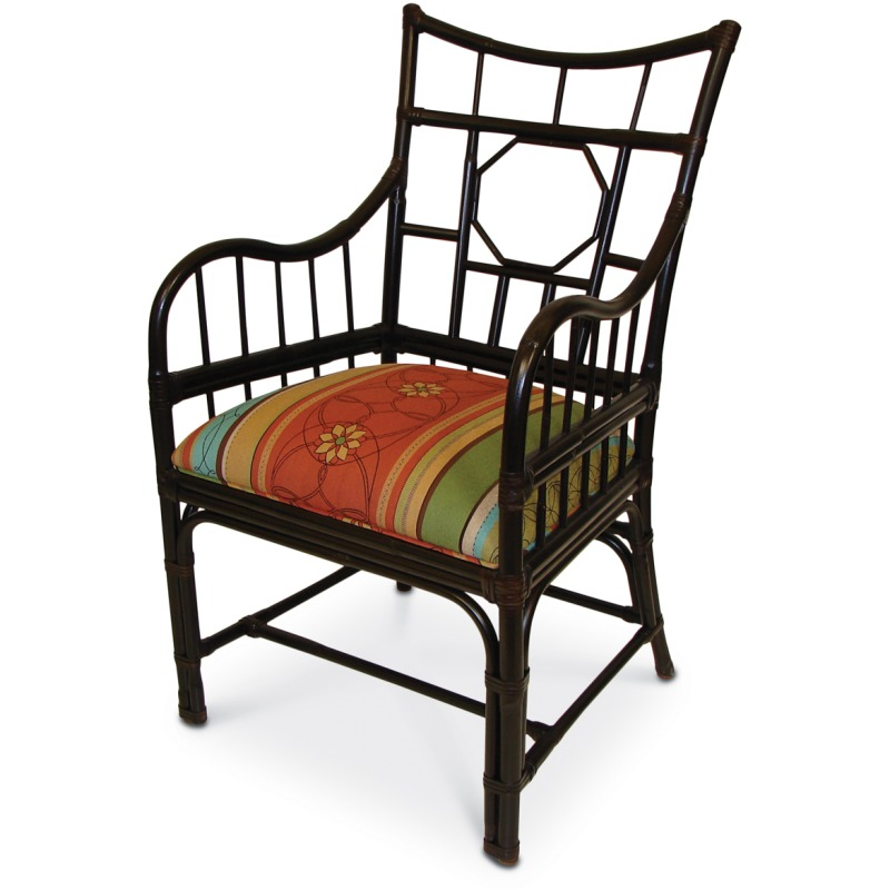 Campaign Arm Chair In Com (nfs)
