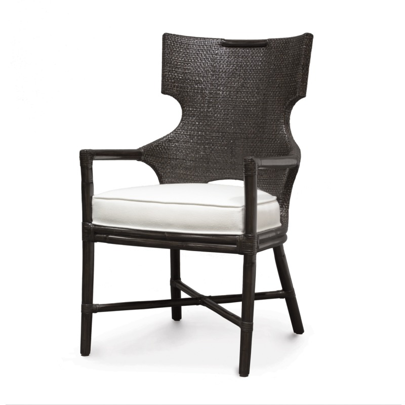 Caprice Arm Chair, Espresso