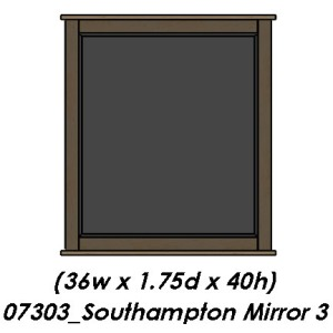 Southampton Bedroom Mirror 3