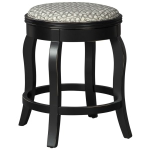 Rounded Backless Barstool