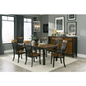 Dining Table & 4 Side Chairs