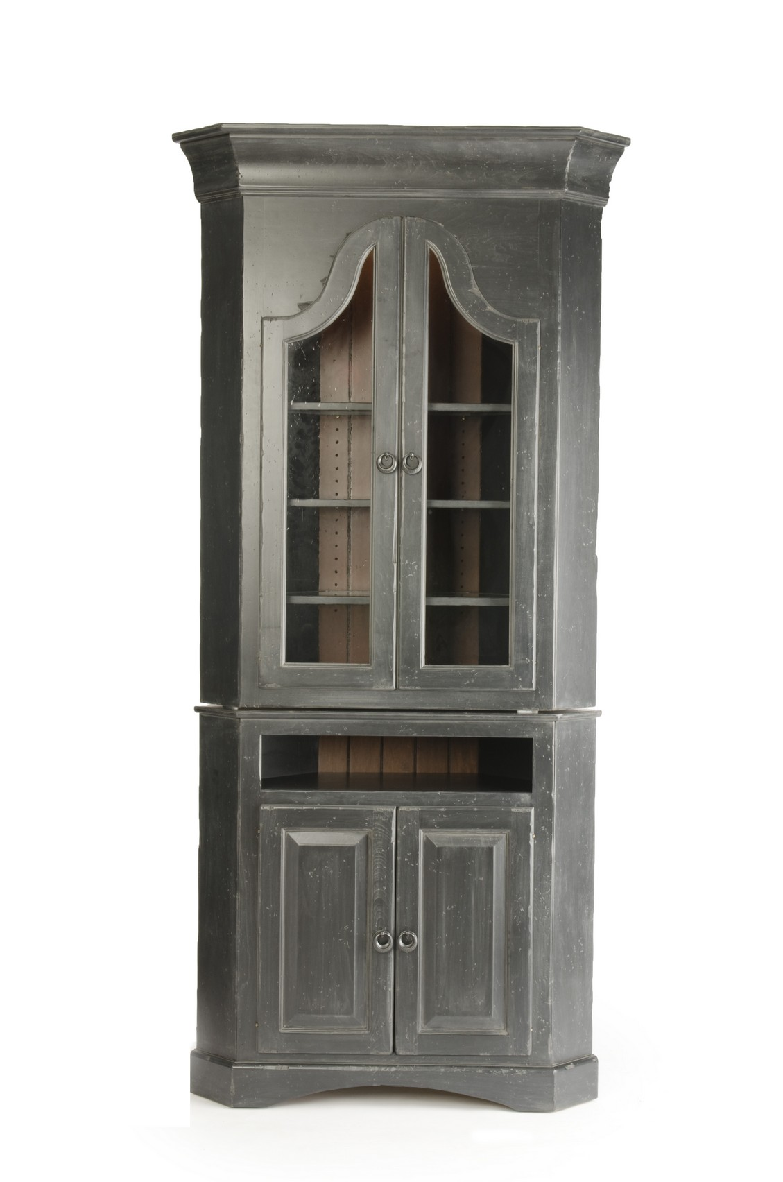 Picture of: Tuscany Corner Hutch By Heartland Heritage Amish Furniture Mall Of Kansas