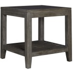 Bravo Glass Top Square End Table