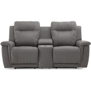 Riley Console Loveseat Power Recliner with Power Headrest