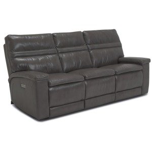 Leo Power Reclining Sofa w/Power Headrest